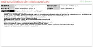 team leader resumejpg image format   team leader resume