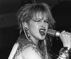 "This photo of Cyndi Lauper in concert by Cathy Miller is included in the local photographer's exhibit, ""Close Up on Rock Music of the 1980s"" at Gibson's ... - pix-1115gibsonsexhibitjpg-e8db2423c98f7c7d_large"