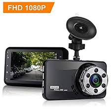 YIKOO Dash Cam, 1080p Full <b>HD</b> Dashboard Camera <b>Recorder</b>, F1 ...