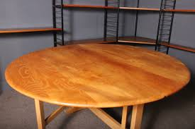 oak dining table oval dropleaf gateleg