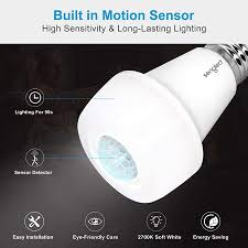 Sengled Smartsense <b>LED Light</b> Bulb with Motion Sensor, A19 <b>Smart</b> ...