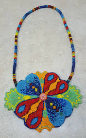 NICE HAND CRAFTED VERY LARGE FULLY <b>BEADED</b> HEARTS ...