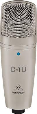<b>USB</b>-<b>микрофон Behringer</b> C-1U Studio Condenser Microphone