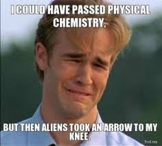 i-could-have-passed-physical-chemistry-but-then-aliens-took-an-arrow-to-my-knee-thumb.jpg via Relatably.com