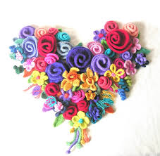 Image result for crochet spring flowers