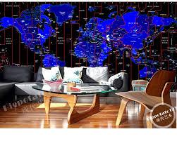 zones bedroom wallpaper: custom children wallpaper time zone map d wallpaper mural for living room bedroom tv backdrop