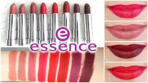 <b>Essence Matt Matt Matt</b> Lipstick Review + Lip Swatches || Best ...