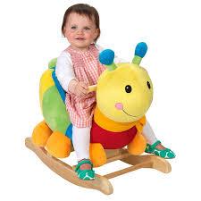 rocking caterpillar baby nursery cool bee animal rocking horse