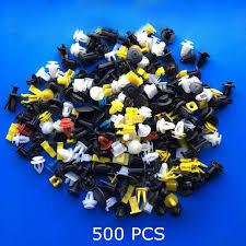 500PCS Mixed <b>Auto Fastener Vehicle Car</b> Bumper <b>Clips</b> Retainer ...