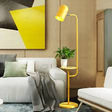 Modern <b>Minimalist Creative</b> LED Vertical Storage Bedside <b>floor lamp</b> ...