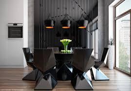 dining room set sleek contemporary  sleek modern dining room