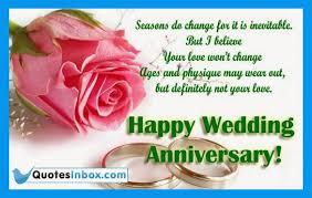 Wedding Anniversary Greetings and Messages | QuotesInbox.com ... via Relatably.com