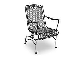 notify me black wrought iron patio furniture