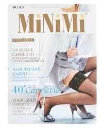 Чулки MiNiMi Capriccio <b>40 den</b> — купить по выгодной цене на ...
