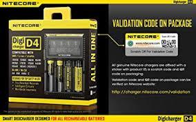 <b>100</b>% <b>Original</b> with validation code <b>Nitecore</b> D4 universal smart ...