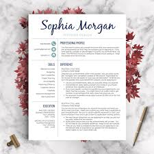 creative resume template resume for word and pages 1 2 🔎zoom