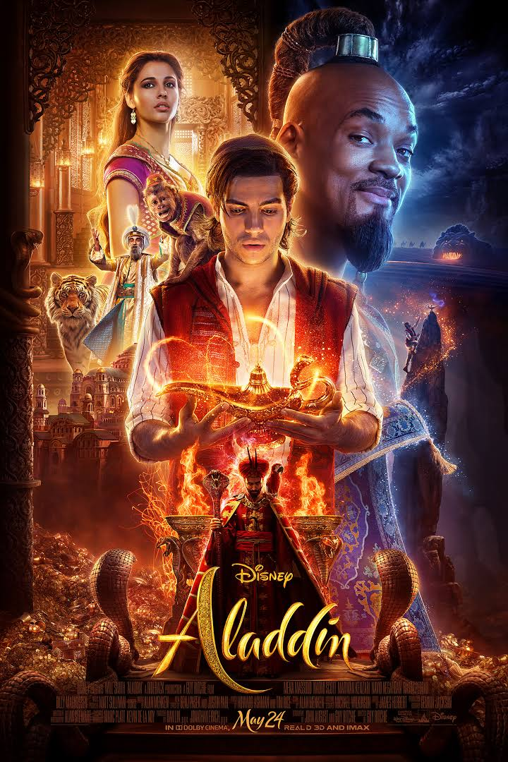 Download Aladdin (2019) Dual Audio {Hindi-English} Bluray 480p [450MB] || 720p [1.2GB] || 1080p [2.6GB]