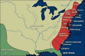 Image result for american 13 colonies