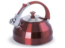 <b>Чайник 3.0л</b> (рубиновый) со свистком TimA