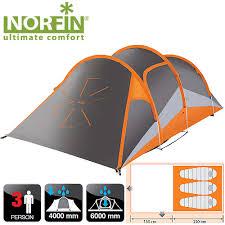 <b>Палатка алюминиевые дуги 3-х</b> местная Norfin HELIN 3 ALU NS