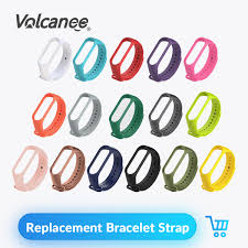 Silicone Strap Band for <b>Xiaomi Mi</b> 2 Smart <b>Bracelet Wristband</b> Wrist ...