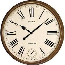Кварцевые музыкальные <b>настенные часы</b> с боем <b>Rhythm</b> ...