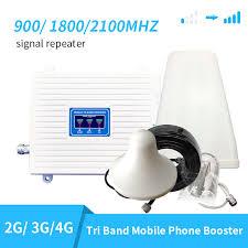 fullset DCS 900 1800 2100HZ 2g 4g LTE Cell Phone Signal ...