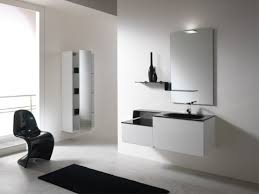the black and white bathroom furniture