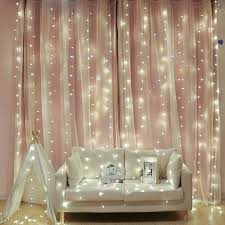 LED String Fairy Net Lights Icicle Hanging <b>Snow Curtain</b> Xmas Tree ...