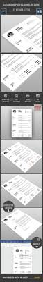 best ideas about cv template cv clean resume cv template psd here graphicriver