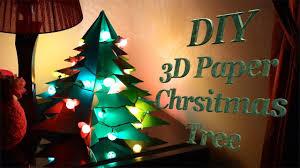 DIY : <b>3D</b> Paper Christmas <b>Tree</b>   How to Make <b>Big Size</b> Paper Xmas ...