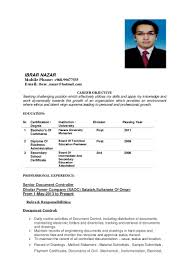 need job in ibrar nazar resume