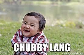 Chubby lang - Evil Asian Baby | Meme Generator via Relatably.com