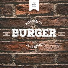 Free Vector | <b>Retro burger</b> logo
