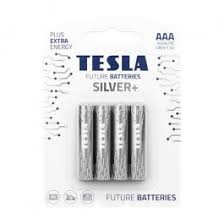 <b>Батарейка Tesla AAA</b> Silver+ 4шт - купить в интернет магазине ...