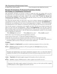 resume resume achievements examples resume achievements examples printable