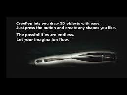 <b>3D</b>-<b>ручка Creopop</b> 3D <b>Pen</b> – ручка, которая не нагревается!