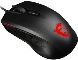 Купить компьютерную <b>мышь MSI Clutch GM40</b> black в Москве ...