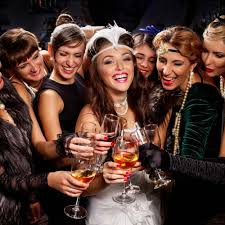 images fancy party ideas:  vintage hen party ideas hitchedco