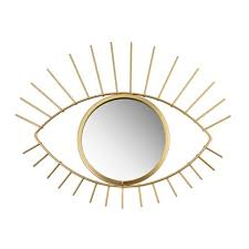Gold <b>Tribal</b> Eye See You Mirror