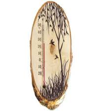Термометр комнатный деревянный Д-10 исп.3 <b>Березка</b> купить с ...