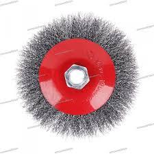 <b>Щетка</b> металлическая для <b>УШМ ЕРМАК</b> 125 мм/М14 (тарелка ...