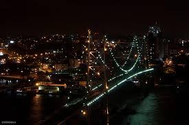 Resultado de imagen para florianopolis de noche