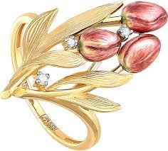 Золотое кольцо ''Тюльпаны'' <b>Kabarovsky</b> 11-21003-1022 с ...