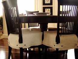 Linen Dining Room Chair Slipcovers An Instant Make Over With Made To Measure Dining Chair Covers