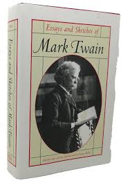 rare book cellar rare out of print books essays and sketches of mark twain mark twain