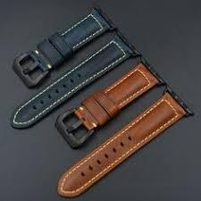 <b>MAIKES Quality watch</b> strap black buckle for Apple <b>Watch</b> band ...