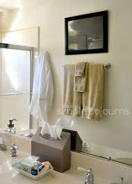 guest bathroom towels:  kleenex hand towels ecguest readyed bathroom