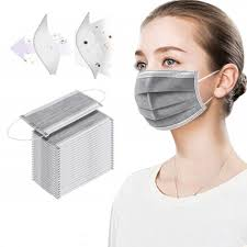 <b>100PCS Mask Disposable 3</b> Layer Face Mouth Protective Anti-dust ...