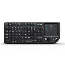 Rii X1 <b>Mini Wireless</b> Keyboard With Touchpad Mouse LED Backlit ...